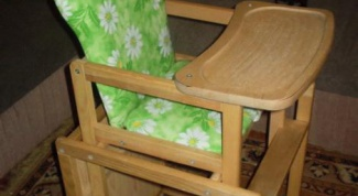 How to make a children's highchair