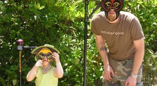 Как сделать детскую маску