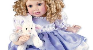 Как сделать каркас куклы