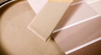 Как сделать коричневые краски
