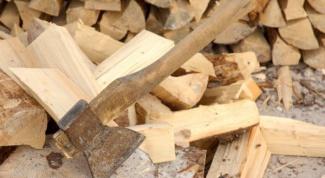 Как расколоть дрова