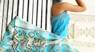 Как сшить юбку-клеш