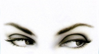 How to dilute paint for eyebrows