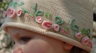 Как связать шапку весеннюю