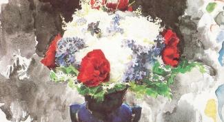 Как рисовать маслом цветы