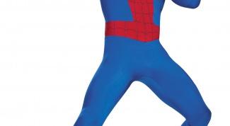 Как сделать костюм, как у человека-паука