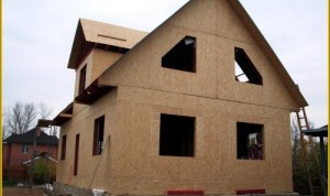 Как построить самому щитовой дом