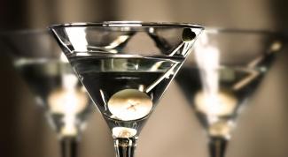 Как разводить мартини
