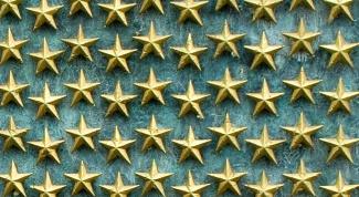 Как располагать звезды на погонах