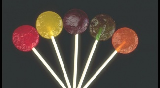 How to make lollipops from sugar