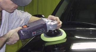 Как шлифовать машину