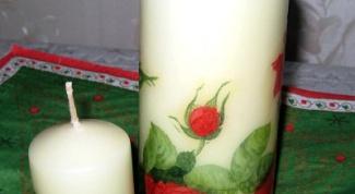 Как сделать свечки своими руками