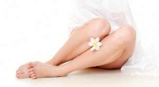 Как сделать красивые колени
