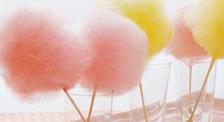 Как сделать сахарную вату в домашних условиях