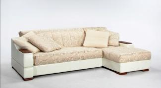 Как сшить покрывало на угловой диван