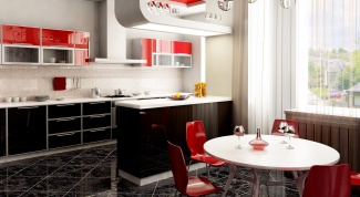 How to arrange the furniture in the kitchen