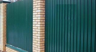 Как сделать ограду