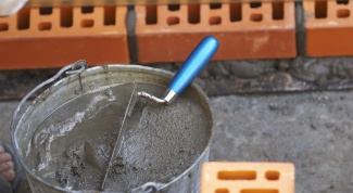 Как сделать раствор цемента