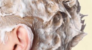 Как смыть оттеночный шампунь