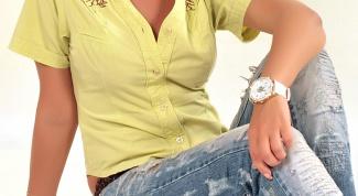 Как состарить джинсы