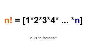 How to solve factorial