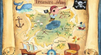 Как составить карту сокровищ