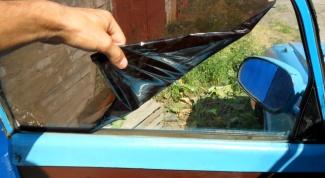 Как удалить тонировку со стекол