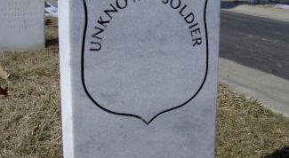 Как установить надгробие