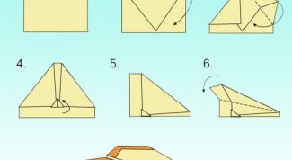 Как сделать самолётики оригами