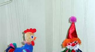 Как сделать куклу-марионетку