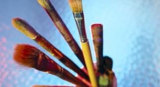 Как рисовать сухой кистью