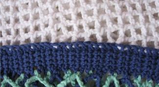 Как сшить вязаное изделие