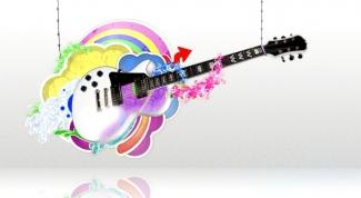 Как настроить первую струну гитары