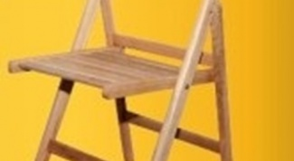 Как сделать раскладной стул