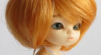 Как сделать парик для куклы