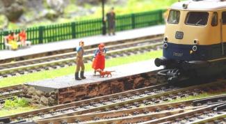 Как сделать макет для железной дороги