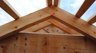 Как сделать крышу в бане