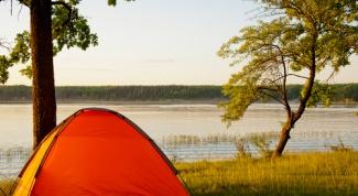 Как складывать палатку-автомат