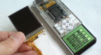 Как разобрать Sony Ericsson