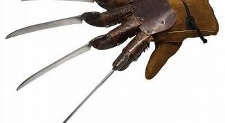 Как сделать перчатку крюгера