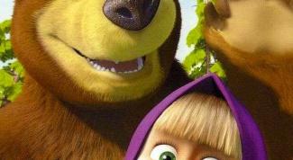 Как рисовать Машу и медведя