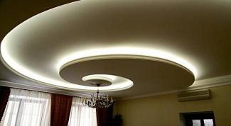 Как делать гипсокартонные потолки