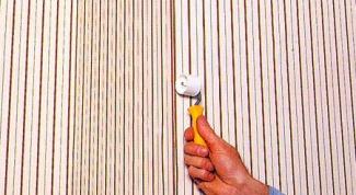 Как убрать пятно на обоях