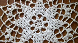 How to starch crochet things