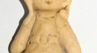 Как сделать куклу из соленого теста