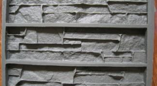Как изготовить форму для камня
