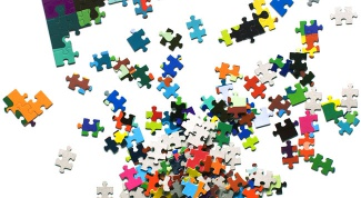 How to glue jigsaw puzzles