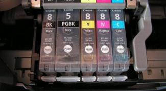 Как заливать краску в принтер
