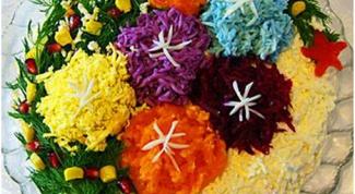 Как покрасить рис