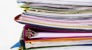 Как сшить документы
